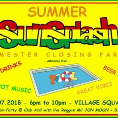 Summer SunSplash Semester Closing Party