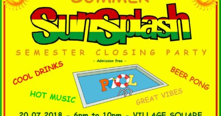 Summer SunSplash Semester Closing Party