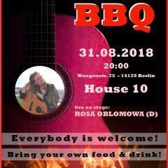 Singer-/Songwriter-BBQ feat. Rosa Oblomowa (D)