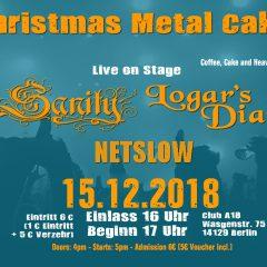 Christmas Metal Cake