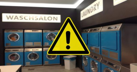 Launderette closed on Thursday morning