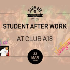 Student After Work Party - BOLLYWOOD Special!
