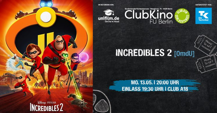 ClubKino: Icredibles II [OmdU]