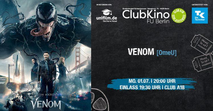 ClubKino: Venom [OmdU]