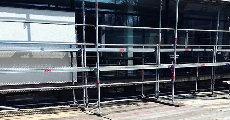 Beeinträchtigung durch Renovierungsarbeiten im Rathaus