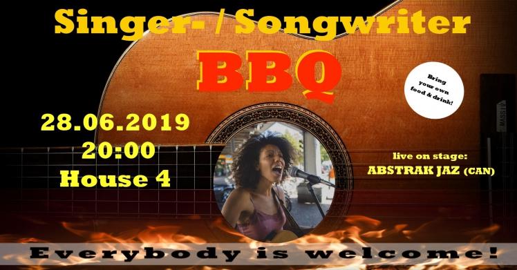 Singer-/Songwriter-BBQ feat. ABSTRAK JAZ (Canada)