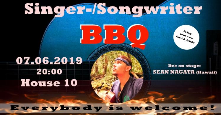 Singer-/Songwriter-BBQ - feat. SEAN NAGATA (Hawaii) 1