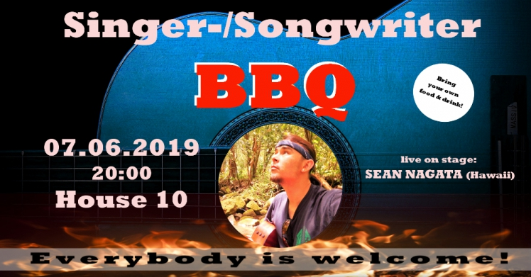 Singer-/Songwriter-BBQ - feat. SEAN NAGATA (Hawaii)