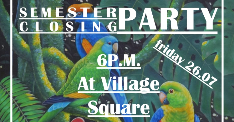 Semester Closing Party - Welcome to the jungle!