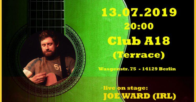 Singer-/Songwriter-BBQ feat. JOE WARD (IRL) 1