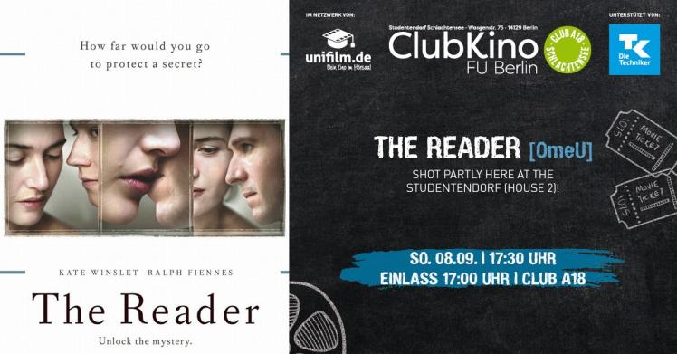 ClubKino-Spezial zum Tag des offenen Denkmals: THE READER (OmeU)
