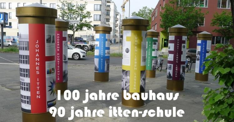 Ausstellung: 100 jahre bauhaus. 90 jahre itten-schule