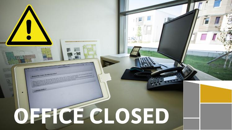 Office closed on Thursday, October 3rd 2