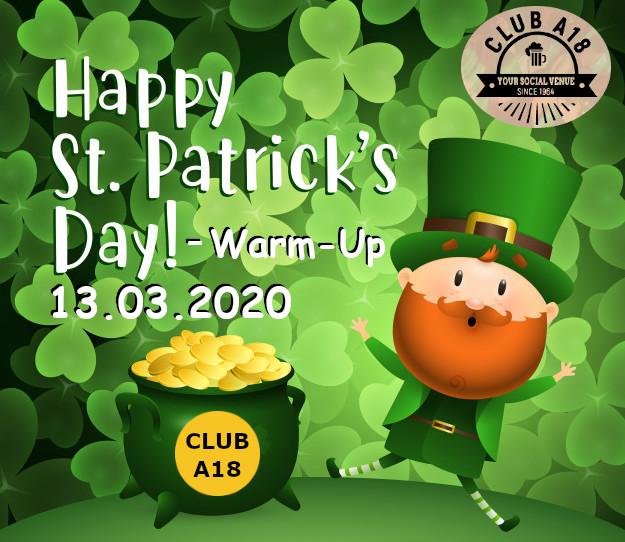 St. Patrick's Day Warm Up
